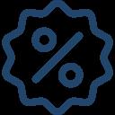 Einzelstücke zwischen 30 - 70 % günstiger