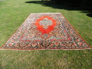 Großer antiker Perserteppich Orientteppich Palastteppich 550x320