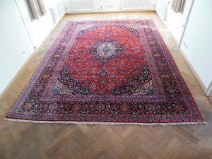 Riesiger Keshan Palast-, Perser-, Orientteppich 500x350 SIGNIERT