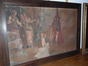 Gemälde 1942, Walküre, Parsifal, Lohengrin, Bayreuth, Hitler, 2.WK