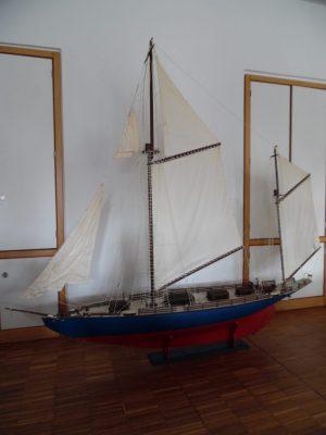Grosses, Riesiges XXL Modell Segelschiff 2,35 x 2,00m
