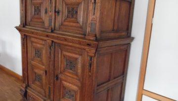Kleiner Renaissance-, Barock, Fassandenschrank